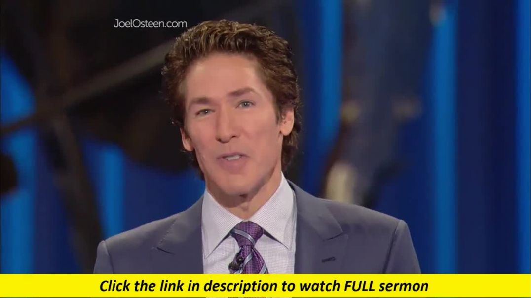 Joel Osteen — Be Real