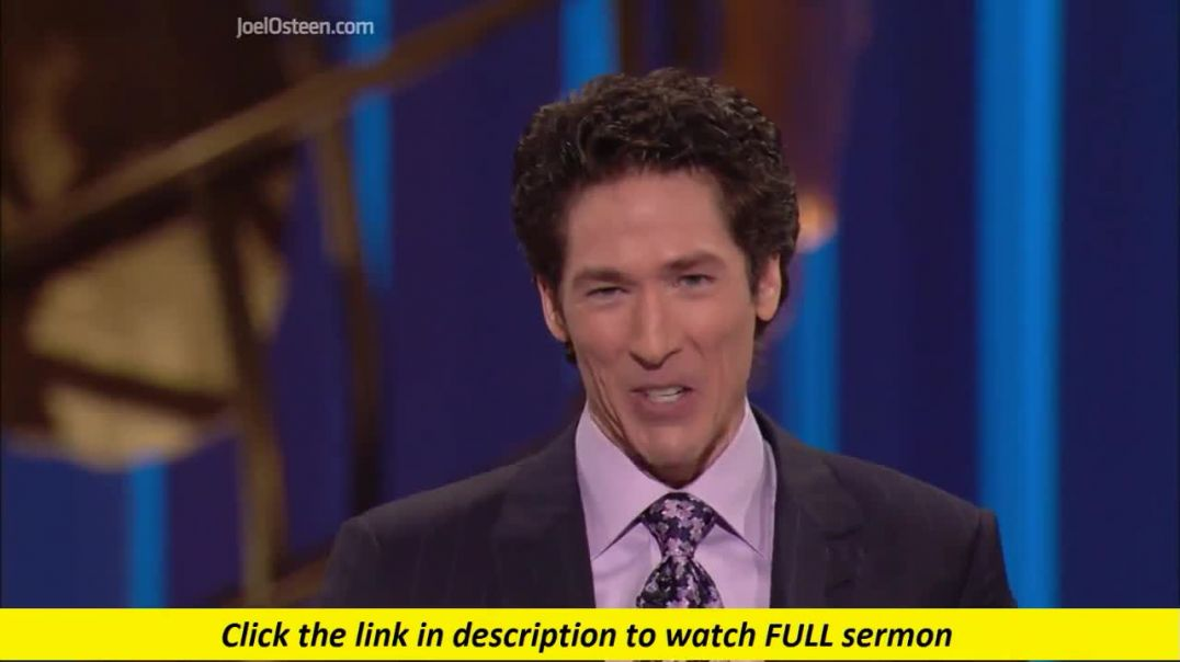 Joel Osteen — Be A Rainmaker