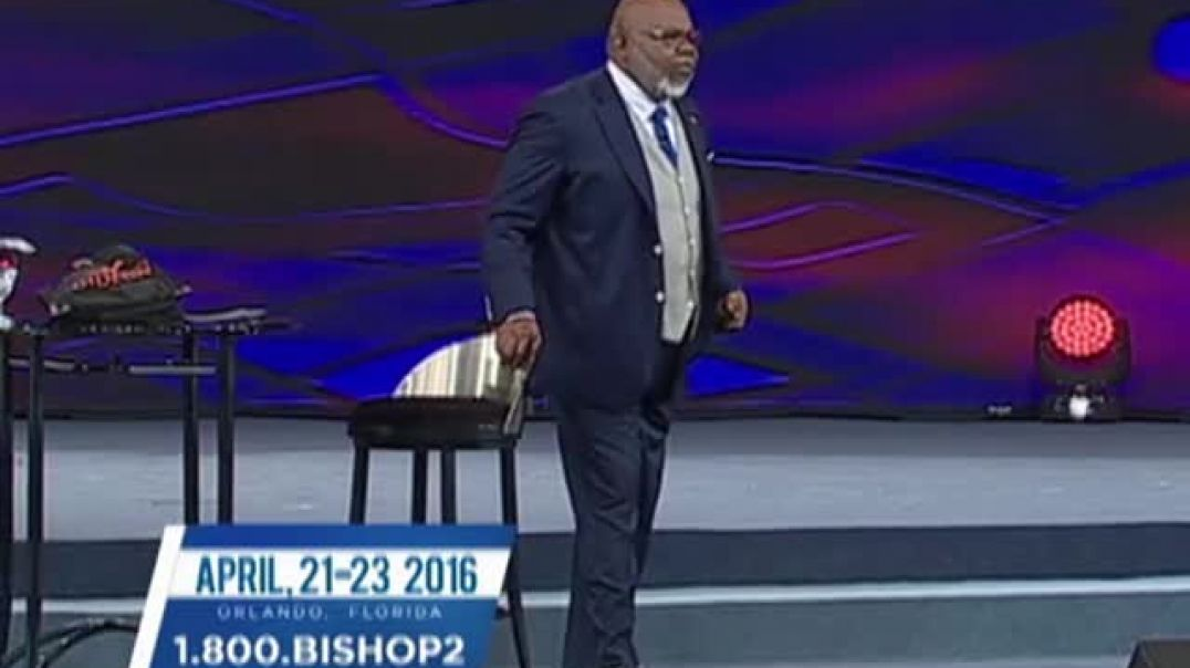 TD Jakes — Fit For The Fight