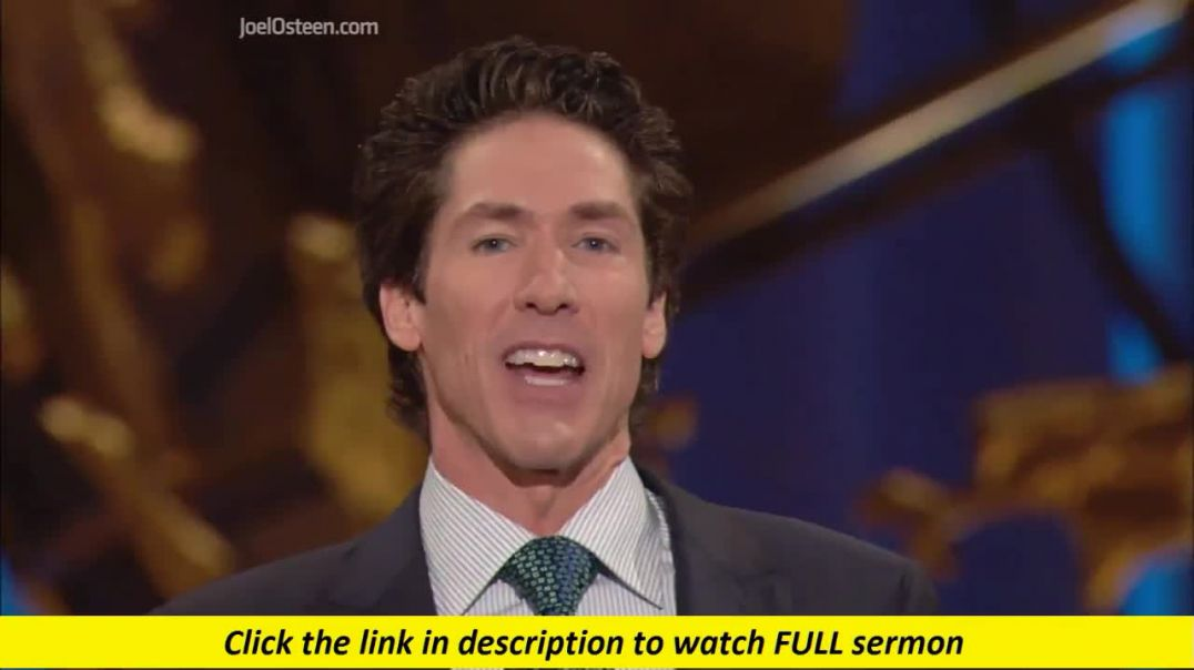 Joel Osteen — Counted by the Creator