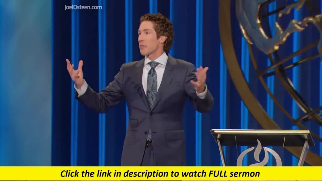 Joel Osteen — A Surge Is Coming