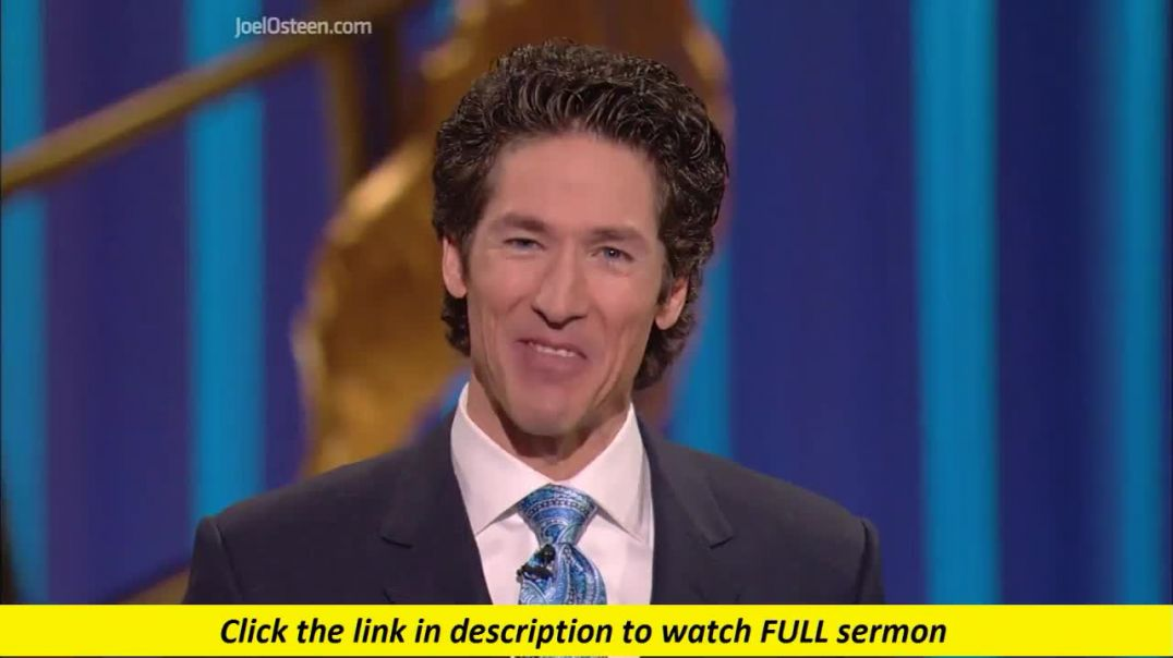 Joel Osteen — A No Stick Anointing