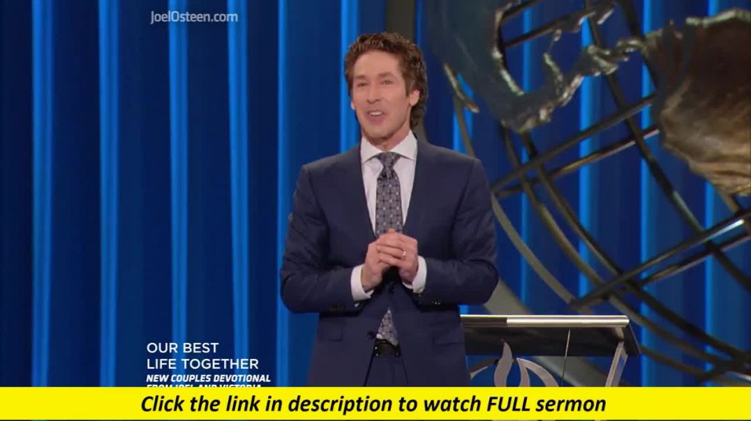 Joel Osteen — Favor In The Storm