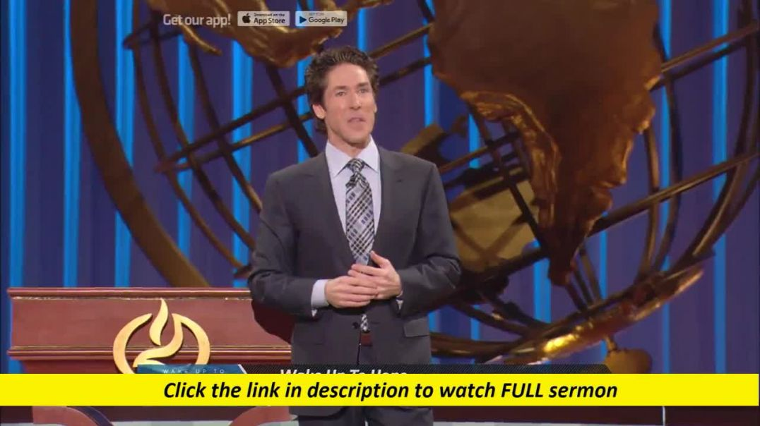 Joel Osteen — Heavy With Favor