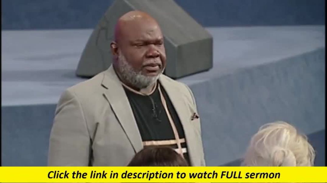 TD Jakes — Get Out of Gethsemane