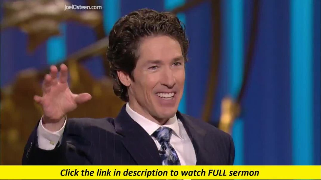 Joel Osteen — God Is in Control of the Storm
