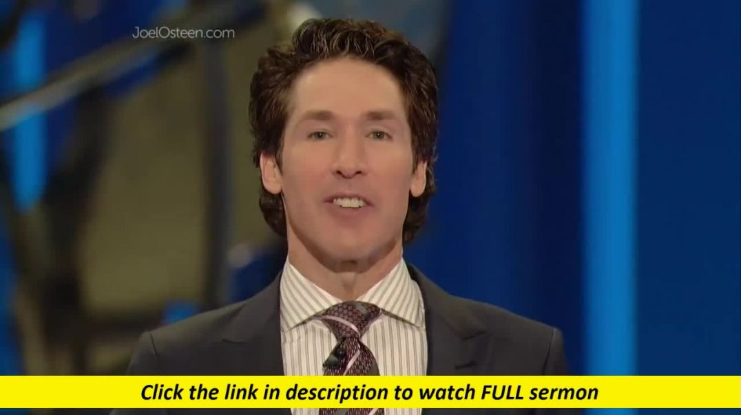 Joel Osteen — Ease Is Coming