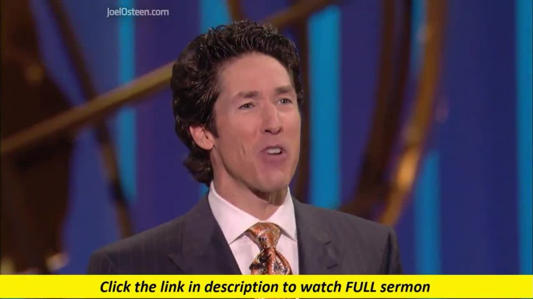 Joel Osteen — Don't Fuel The Fire