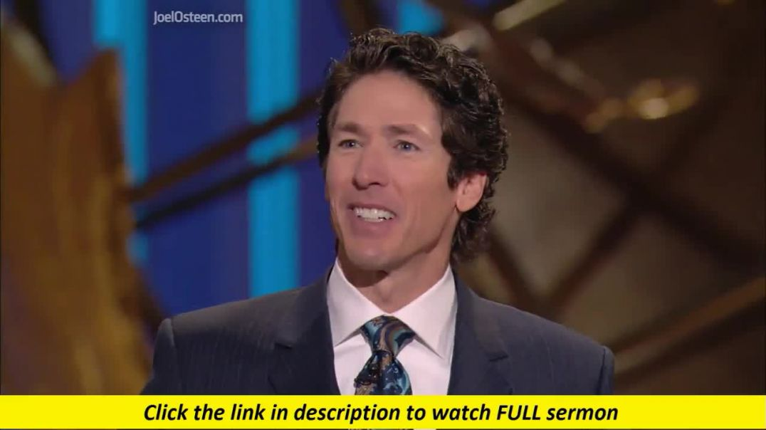 Joel Osteen — Go After The Prodigals