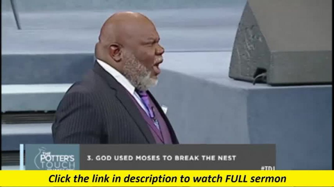 TD Jakes — Find Your Wings