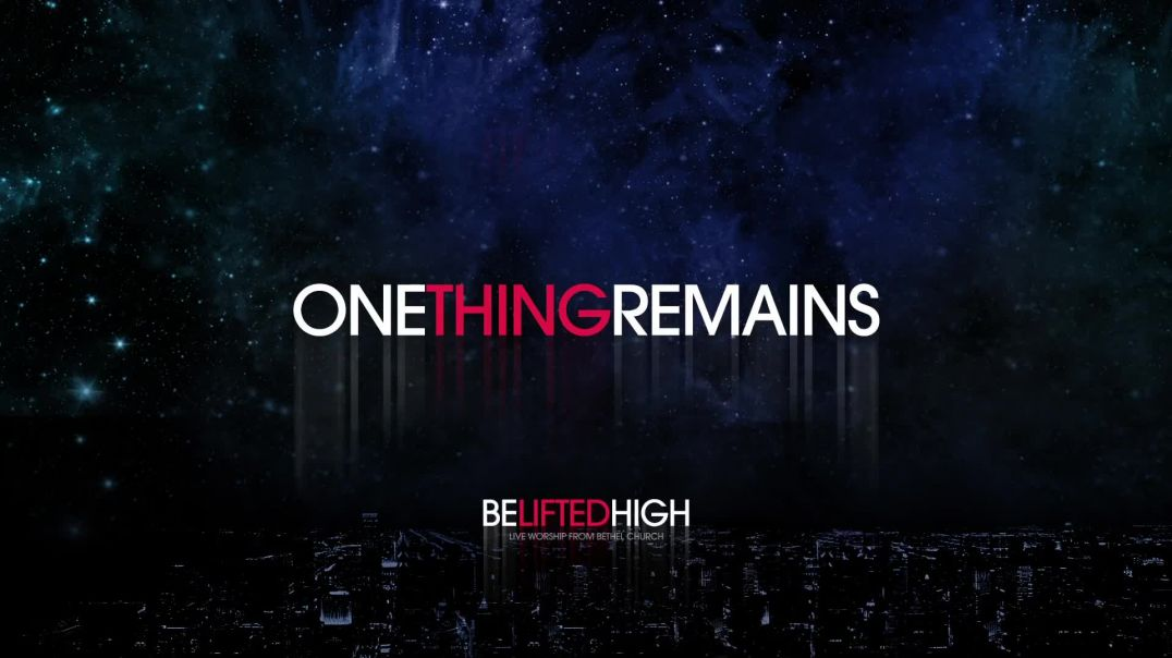One Thing Remains (OFFICIAL AUDIO)