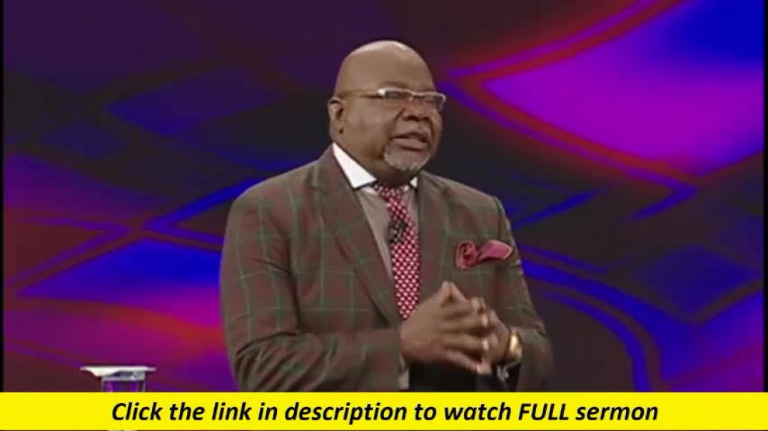 TD Jakes — Get Into Focus