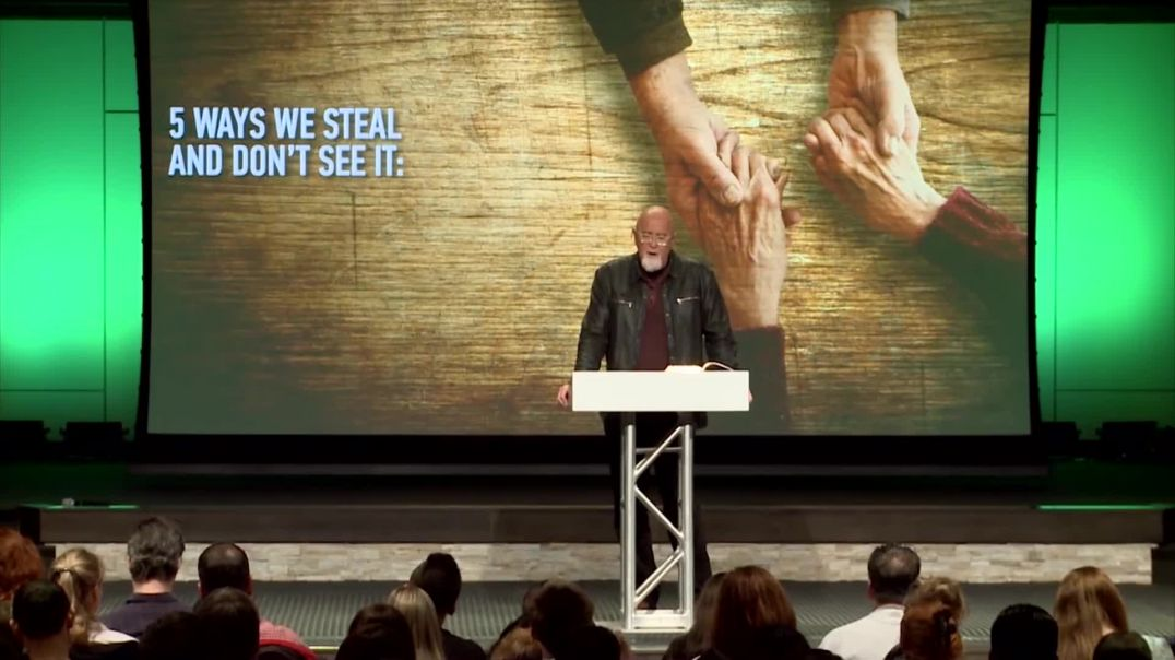 5 Ways You STEAL  Pastor James MacDonald