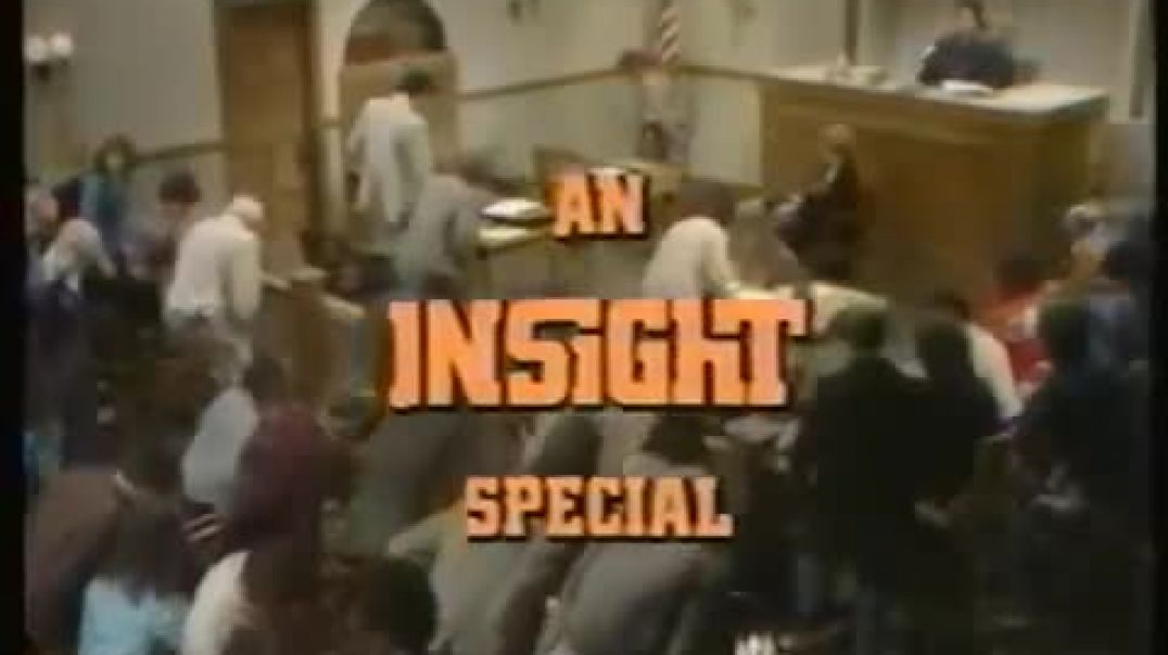 Insight - God In the Dock (1980) God on Trial T.V. episode