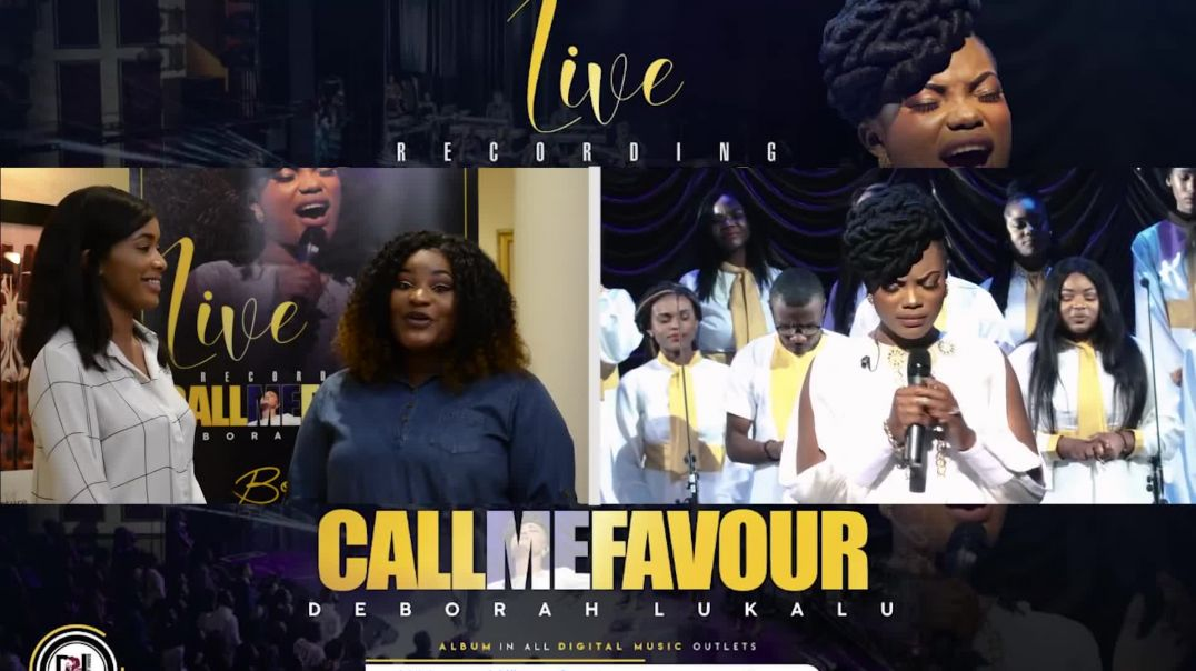 DEBORAH LUKALU - ''CALL ME FAVOUR'' PRESS CONFERENCE LAUNCH