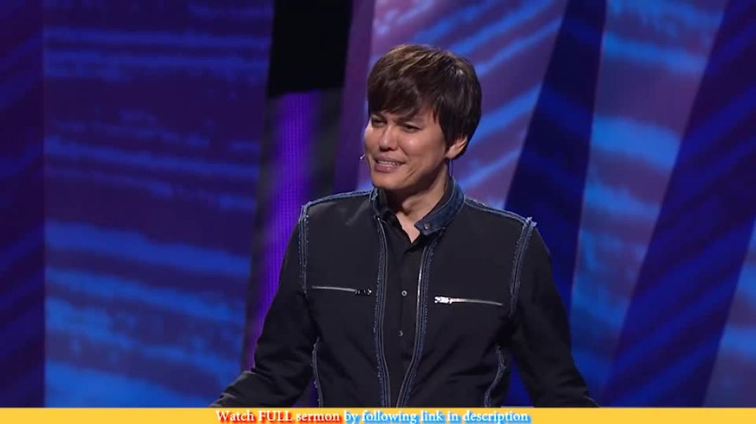 Joseph Prince — Last To First When You Trust His Goodness
