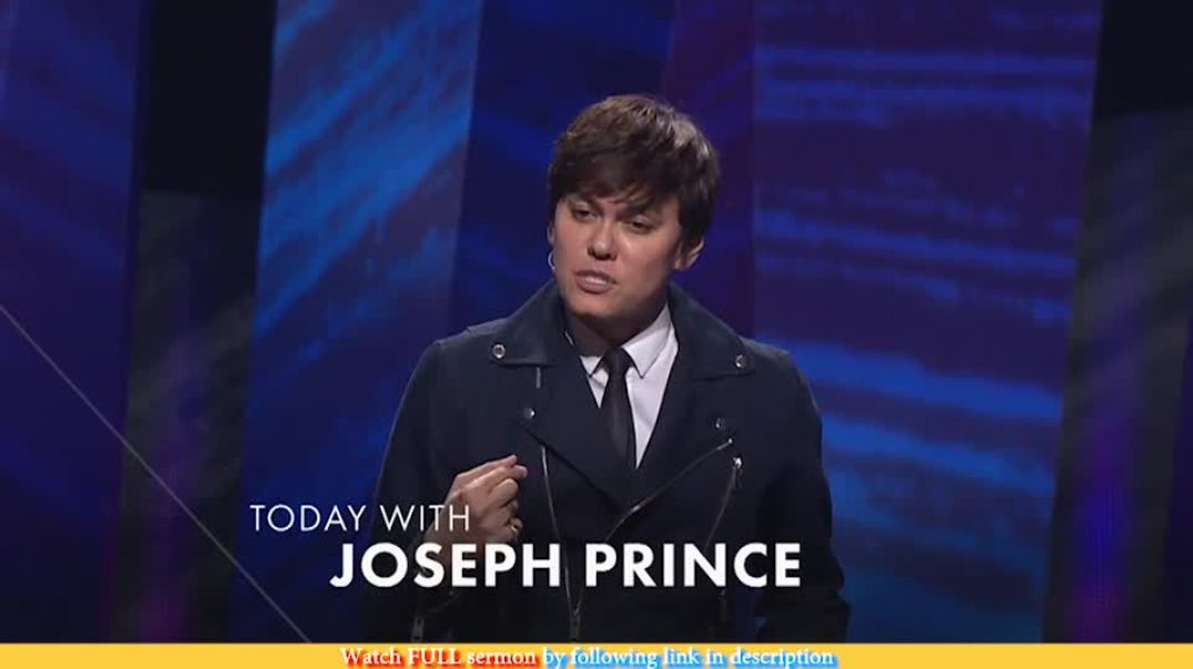 Joseph Prince — Live Long, Live Strong (1 of 3)