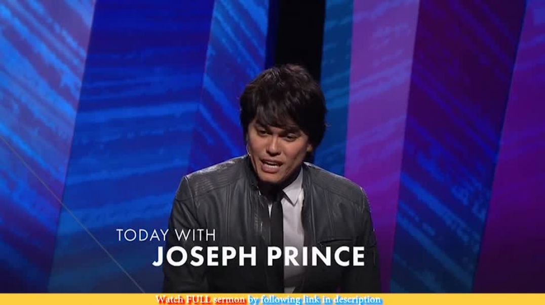 Joseph Prince — Receive All That God Is Supplying You Today