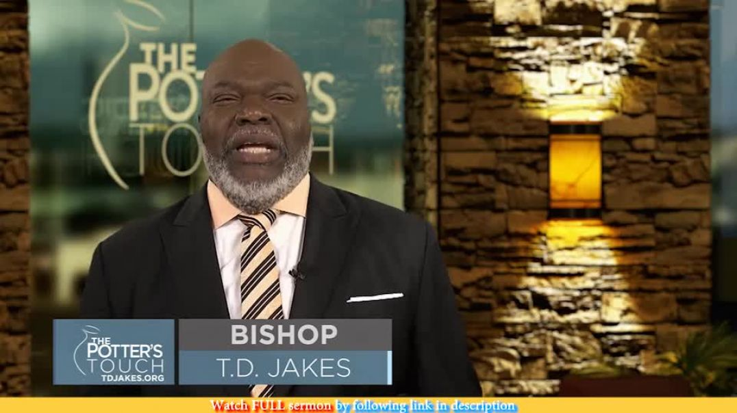 TD Jakes — The Gospel Exposed