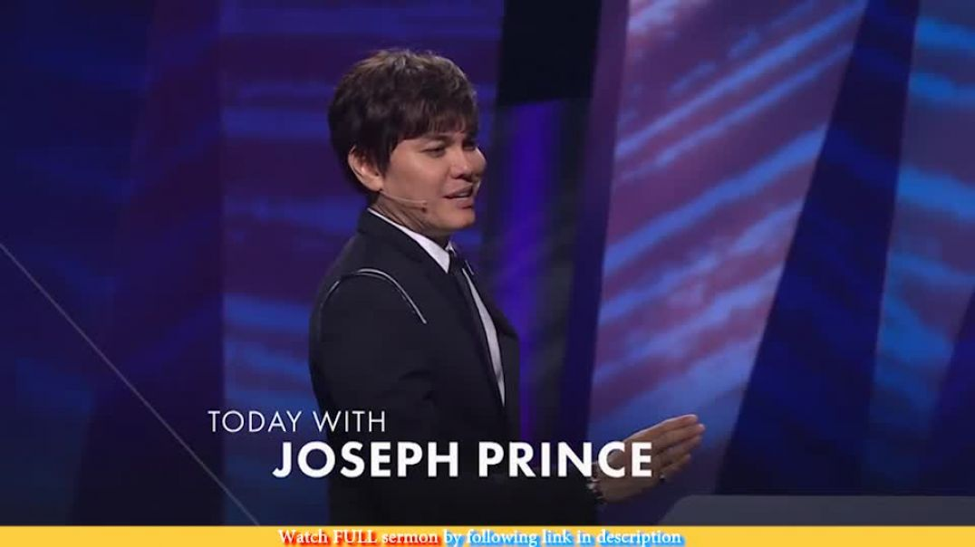 Joseph Prince — God's Plan To Prosper You In The End Times