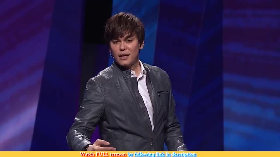 Joseph Prince — How To Pray And See Results