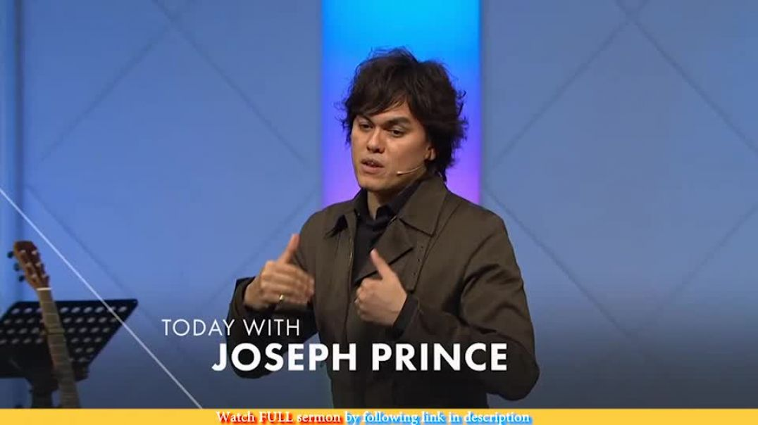 Joseph Prince — Alive In Christ, Dead To The Law
