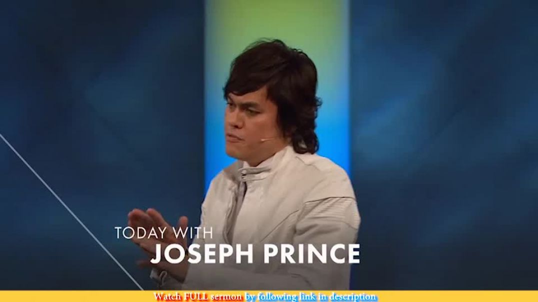 Joseph Prince — Make Grace The Principal Thing