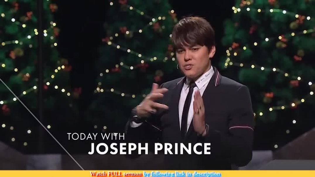 Joseph Prince — Believe His Love And Receive All Blessings