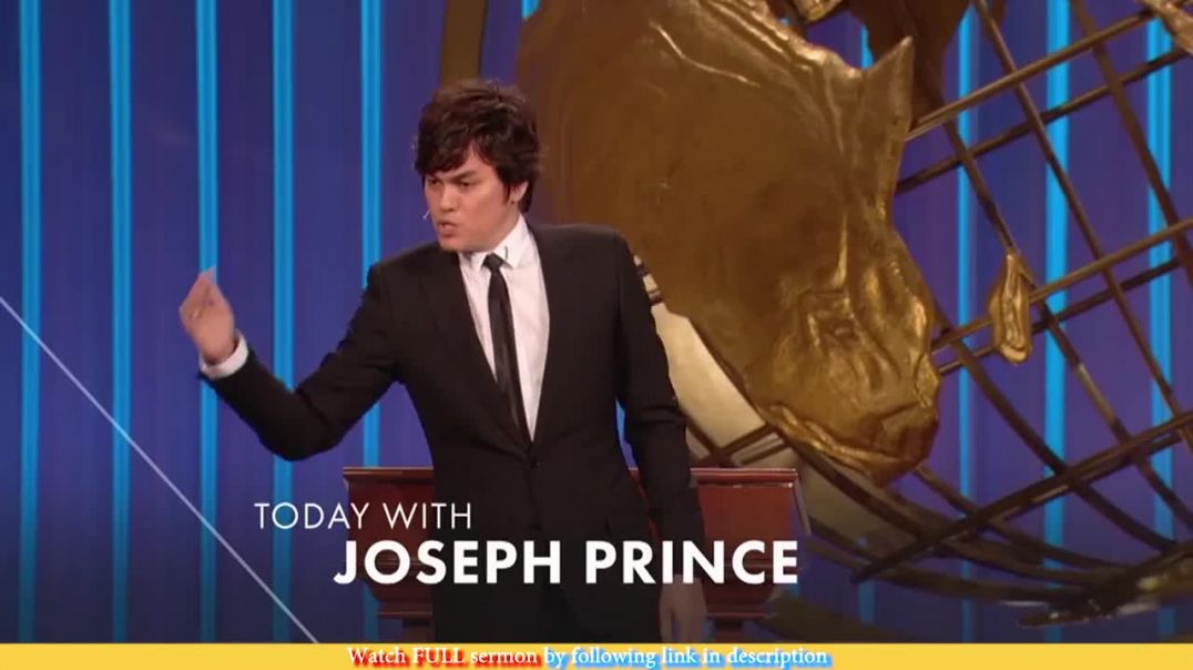 Joseph Prince — Grace Is Higher Than The Law