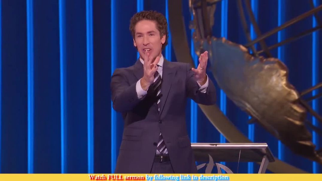 Joel Osteen — Closed Doors Can't Stop You