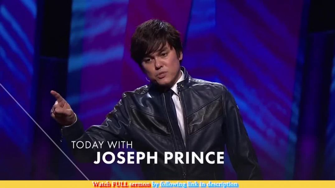 Joseph Prince — Live Full Of Faith