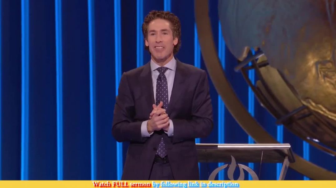 Joel Osteen — Get Ready For Overflow