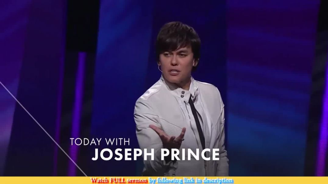 Joseph Prince — Believe Right And See Good